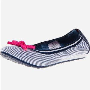 Tommy Hilfiger rope flats